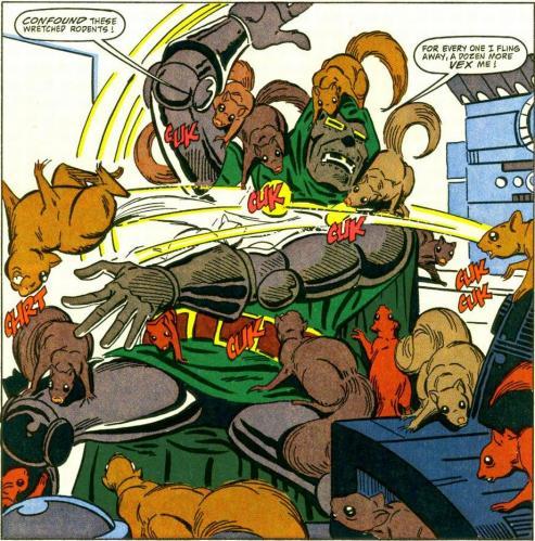 Dr Doom vs Squirrels