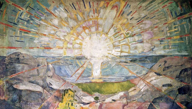 Edvard Munch - The Sun (1911-1916)