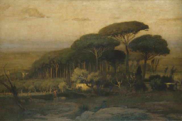George Inness - Pine Grove of the Barberini Villa (1876)