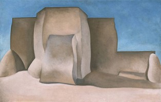 Georgia O'Keefe - Ranchos Church, No. II, NM (1929)