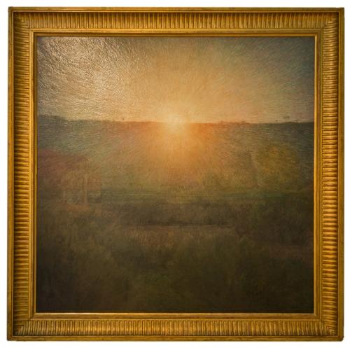Giuseppe Pellizza da Volpedo - Il sole (Il sole nascente) (1904)