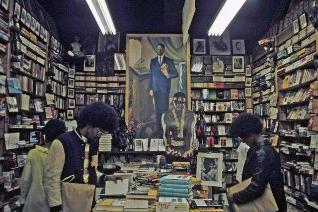 Jack Garofalo - Bookstore, Harlem, 1970