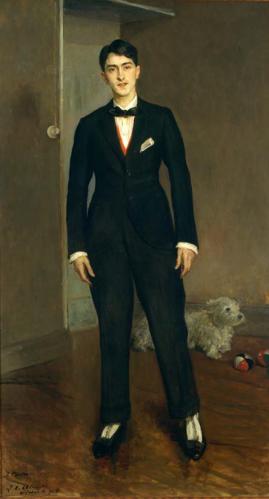 Jacques-Émile Blanche - Portrait of Jean Cocteau (1913)