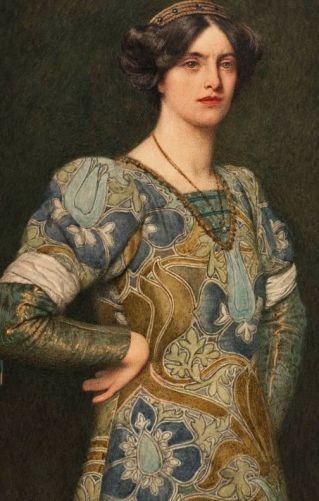 James Dromgole Linton - Katherine from The Taming of the Shrew (mid 1890s)