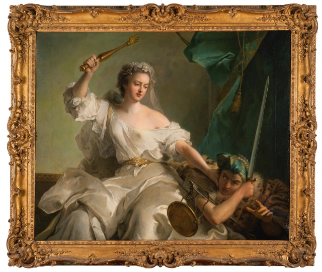 Jean-Marc Nattier - An Allegory of Justice Combating Injustice (c. 1737)