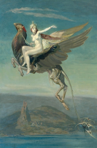 John Duncan - Heptu Bidding Farewell to the City of Obb (1909) 1