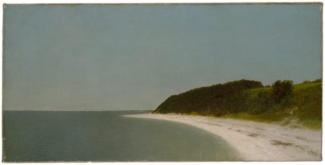 John Frederick Kensett - Eaton's Neck, Long Island (1872)