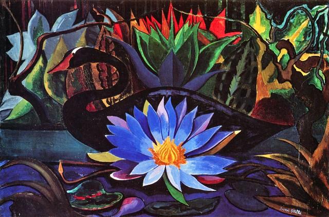 Joseph Stella - Black Swan (1928-1929)