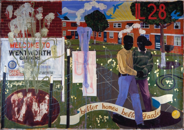 Kerry James Marshall - Better Homes Better Gardens (1994)