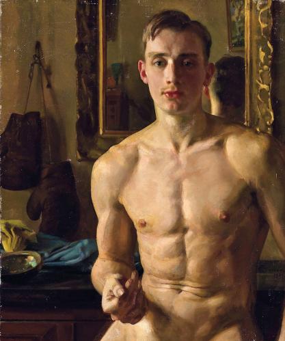 Konstantin Somov - The Boxer (1933)