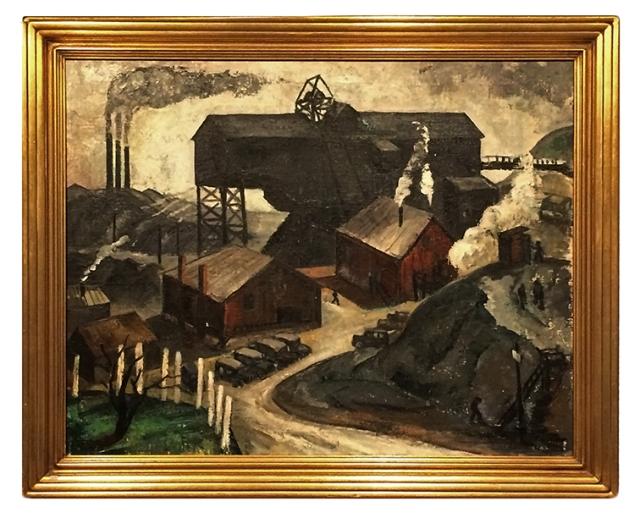 Louise Pershing - Bituminous Coal Tipple (1936)