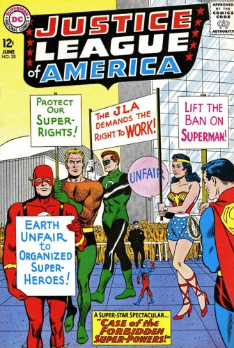 Mike Sekowsky - JLA 28 (June 1964)
