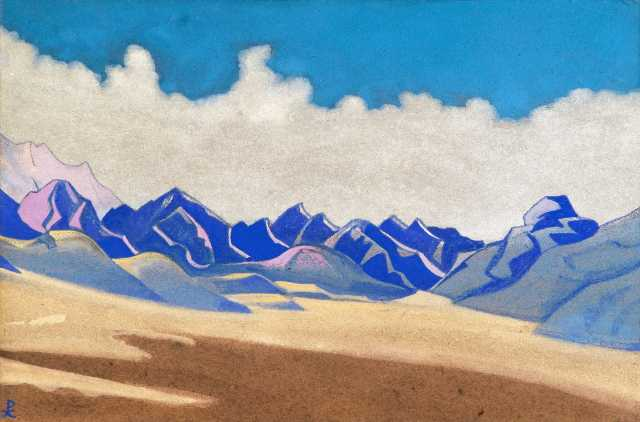 Nicholas Roerich - Karakoram, Path to Turkestan (1936)