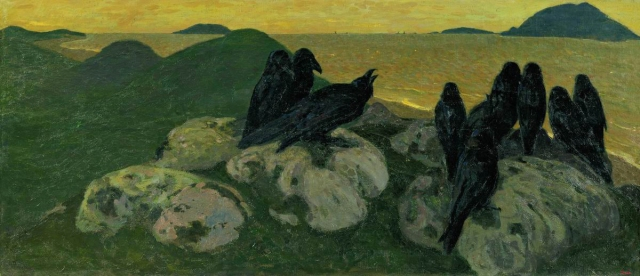 Nicholas Roerich - The Crows (1901)