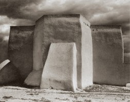 Paul Strand - St. Francis Church, Ranchos de Taos, New Mexico (1931)