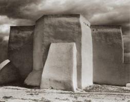 Paul Strand - St. Francis Church, Ranchos de Taos, New Mexico (1931)