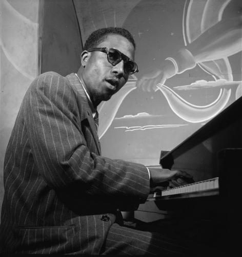 William P. Gottlieb - Thelonious Monk, Minton's Playhouse, New York, NY (ca. Sept. 1947)