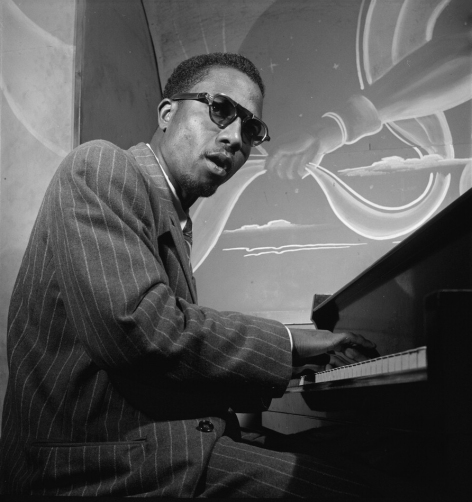 William P. Gottlieb - Thelonious Monk, Minton's Playhouse, New York, NY (ca. Sept. 1947)