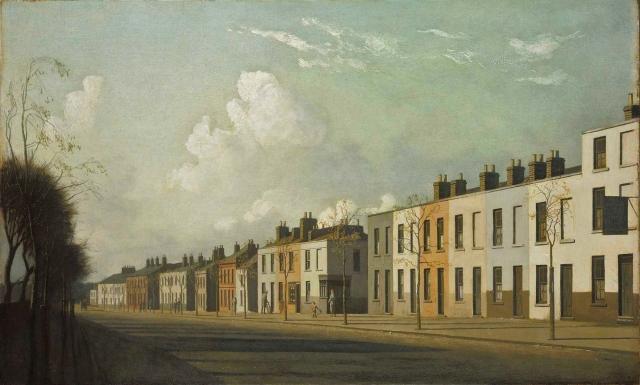Algernon Cecil Newton - Outskirts of Cheltenham (1932)