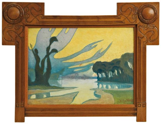 Charles Guilloux - Paysage Mystique (c.1892)
