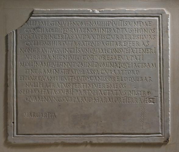 Epitaph for Margarita (Roman, 1st - 2nd Century AD)
