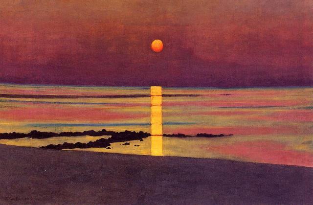 Félix Vallotton - Sunset (1913)