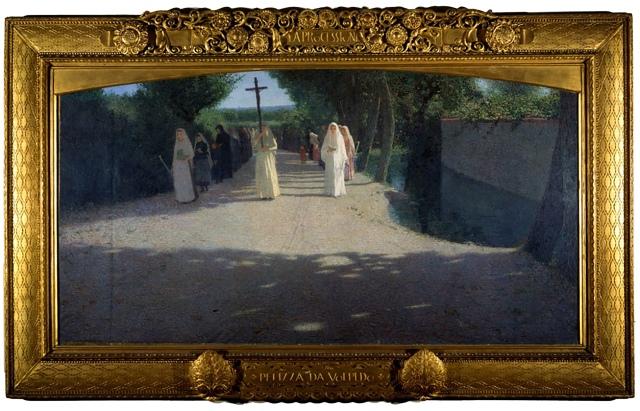 Giuseppe Pellizza da Volpedo - The Procession (1892-1895)