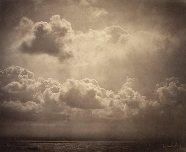 Gustave Le Gray - Marine, étude de nuages (1856-57)