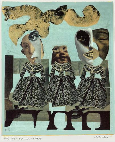 Hannah Hoch - Fashion Show (1925-35)