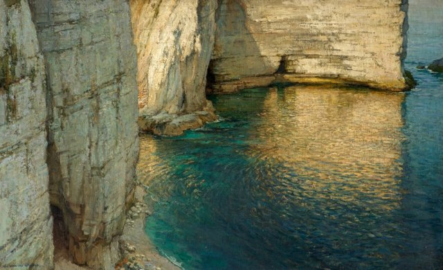 Harry van der Weyden - Cliff End, Studland, Dorset (1909–1910)
