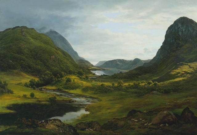 John Glover - Thirlmere (c. 1820)