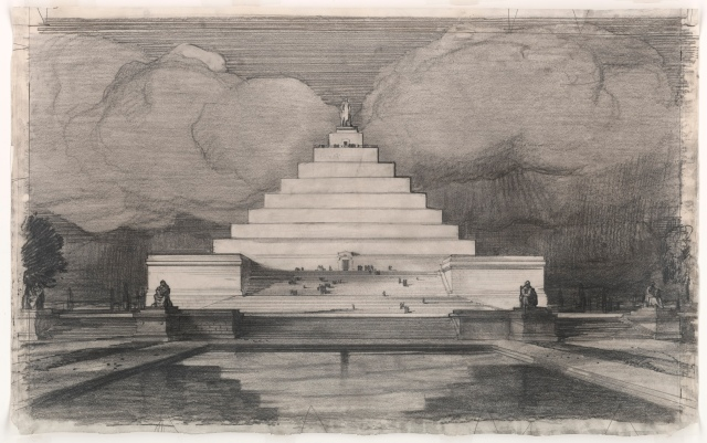 John Russell Pope - Competition Proposal for Lincoln Monument (1912)