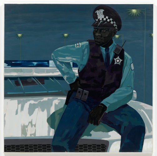 Kerry James Marshall - Untitled (policeman), 2015