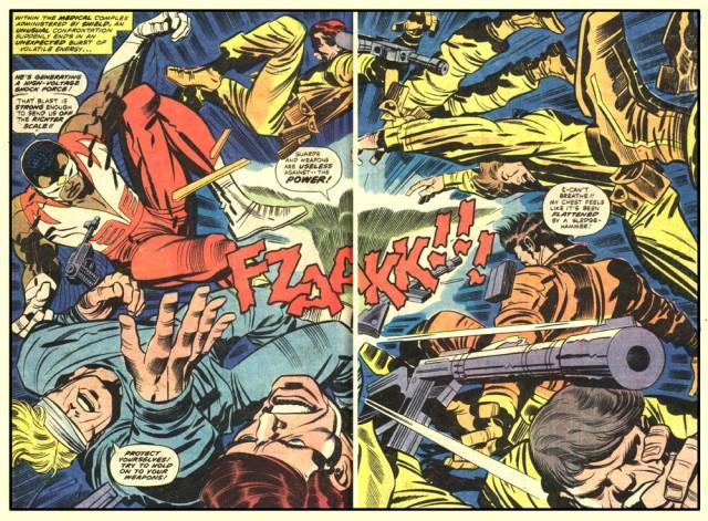 Kirby - Captain America 214 (Oct 1977)