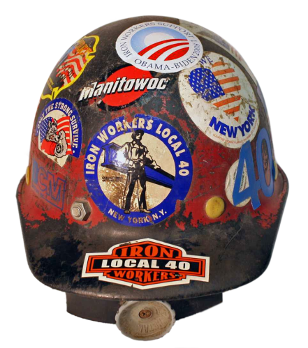 Larry Keating's Hardhat