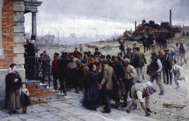 Robert Koehler - The Strike (1886)