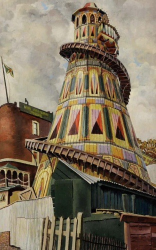 Stanley Spencer - Helter Skelter (1937)