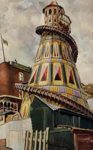 Stanley Spencer - Helter Skelter (1937)