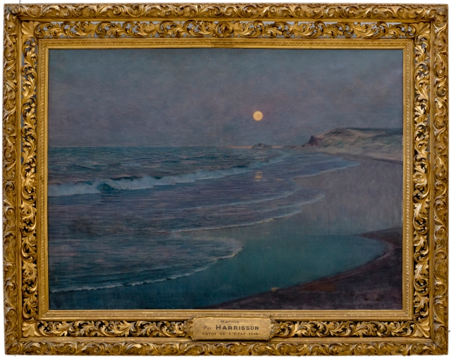 Thomas Alexander Harrison - Marine, Clair de lune (c. 1892-1893)