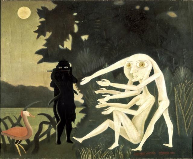 Victor Brauner - La rencontre du 2 bis rue Perrel (1946)