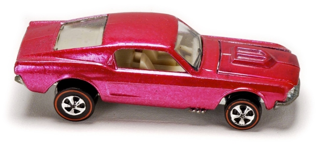1968 Hot Wheels Mustang