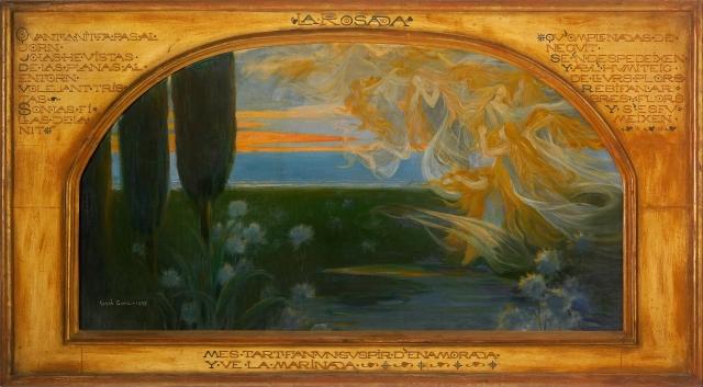 Adrià Gual - The Dew (1897)