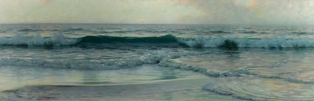 Alexander Harrison - Wave (1885)