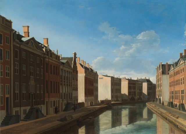 Gerrit Adriaensz. Berckheyde - View of the Golden Bend in the Herengracht (1671-72)