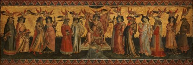 Giovanni dal Ponte - The Seven Liberal Arts (c. 1435)