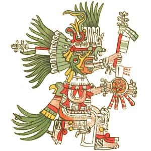Huitzilopochtli - Codex Telleriano-Remensis (16th Century)