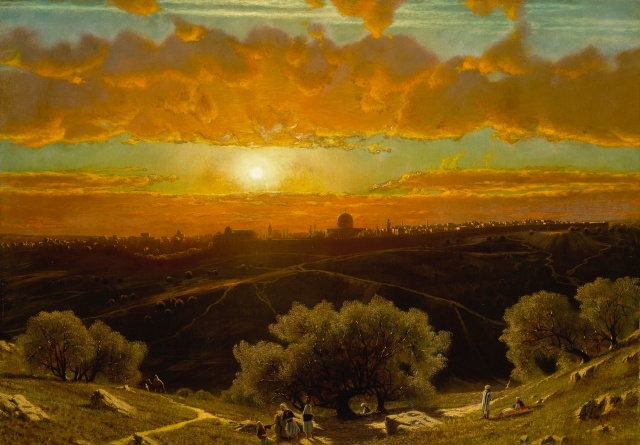 James Fairman - Jerusalem from the Mount of Olives (1875)