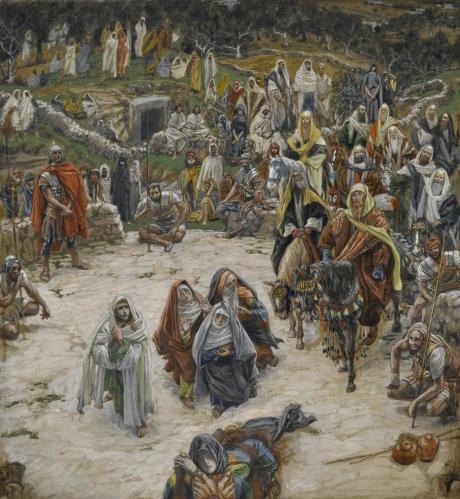 James Tissot - Ce que voyait Notre-Seigneur sur la Croix (1894)