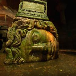 Medusa - Bascilica Cistern, Istanbul (6th Century) 2