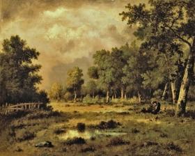 Narcisse Diaz de la Peña - The Forest Clearing (1875)